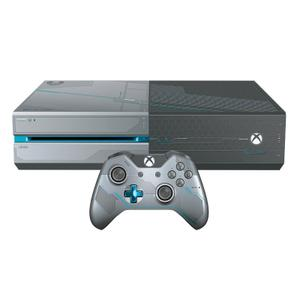 Console Microsoft Xbox One Halo 5: Guardians Limited Edition 1TB + controller + spel Halo 5: Guardians - Grijs/Zwart