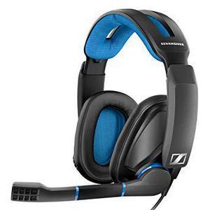 Casque Réducteur de Bruit Gaming avec Micro Sennheiser GSP 300 - Noir/Bleu