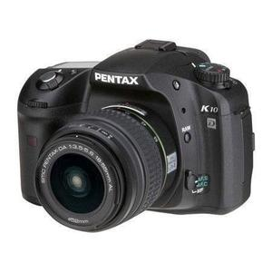 Reflex - Pentax K10D + Objectif 18-55 - Noir