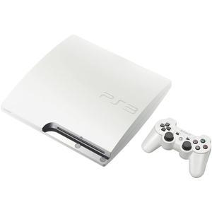 Wohnzimmer-Konsole Sony PlayStation 3 Slim 500 GB + Controller - Weiß
