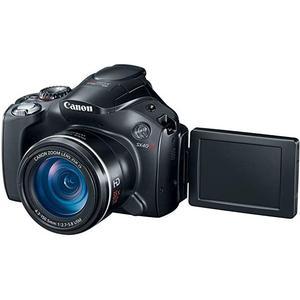 Canon PowerShot SX40 HS Bridge 12Mpx - Black