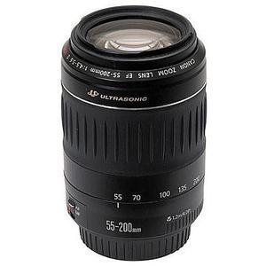 Lente Canon EF 55-200 mm f/4.5-5.6