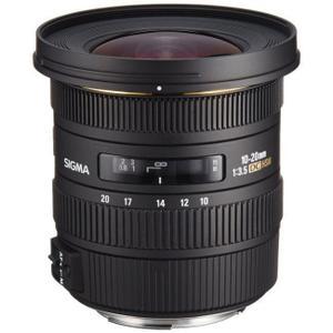 Objektiv Sigma 10-20 mm 1: 3,5 DC EX HSM