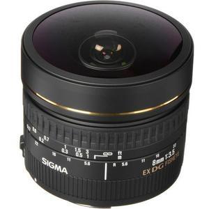 Objectif Sigma 8mm f/3.5