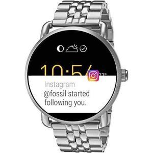 Reloj inteligente Fossil Q Wander FTW2111 - Plateado
