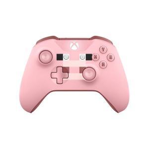 Manette sans fil Xbox One Microsoft Minecraft Pig Edition Limitée