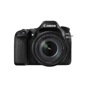 Reflex - Canon EOS 80D - Negro + Lente Canon 18-135mmf / 3.5-5.6 EF-S ES USM