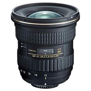 Lens Tokina F AT-X 11-20 mm f/2.8 PRO DX voor Nikon - Zwart