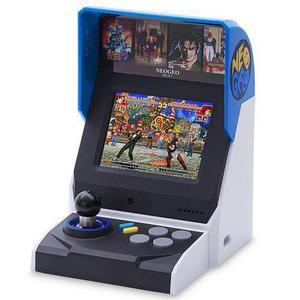 Console SNK Neo Geo Mini + 40 Spellen - Wit/Blauw