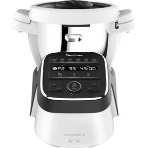 Multifunktions-Küchenmaschine MOULINEX Companion XL HF808800 Weiß/Schwarz