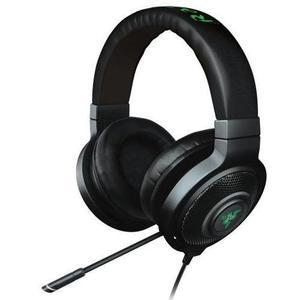 Kopfhörer Rauschunterdrückung Gaming mit Mikrophon Razer Kraken 7.1 V2 - Schwarz
