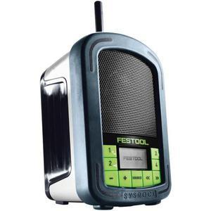 Radio Festool BR 10 DAB+ SYSROCK - Blau/Weiß