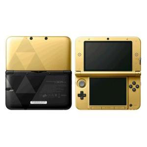 Nintendo 3DS XL - HDD 2 GB - Gold/Schwarz