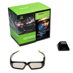 Lunettes 3D Nvidia GeForce 3D Vision Kit