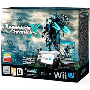 Console Nintendo Wii U Premium + Jeux  Xenoblade Chronicles X Edition Limité