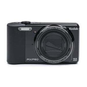 Kompaktikamera Kodak PixPro FZ151 - Musta + objektiivi Kodak PixPro Aspheric HD Zoom Lens 24-360 mm f/3.3-5.9
