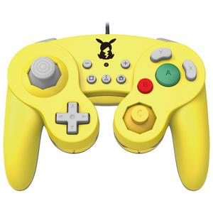 Manette Filaire Nintendo Switch Battle Pad Pikachu - Jaune