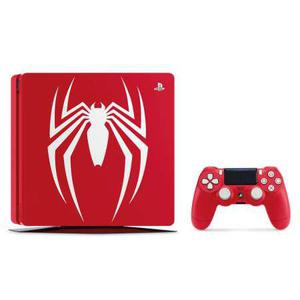 Console Sony PlayStation 4 Slim 1TB Marvel's Spider-Man Limited Edition + Controller - Rood