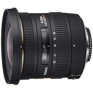 Objectif Sigma DC 10-20MM F / 3.5 EX DC pour Nikon