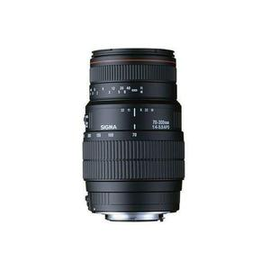 Lens Sigma AF 70-300mm f/4-5.6