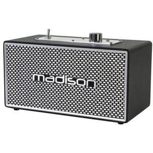 Enceinte Bluetooth Madison Freesound Vintage - Noir