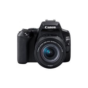 Reflex Canon EOS 200D - Musta + Objektiivi Canon 18-55mm f/4.0-5.6 IS STM