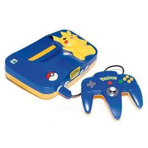 Nintendo 64 - HDD 0 MB - Blau/Gelb