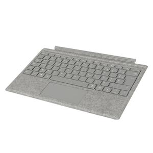Clavier Surface Pro Microsoft Type Cover Platine - AZERTY