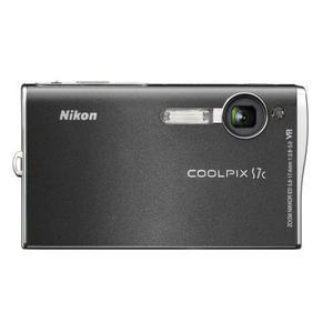 Kompaktkamera Nikon Coolpix S7C Schwarz + Objektiv Nikon Nikkor Zoom ED VR 35-105 mm f/2.8-5.0