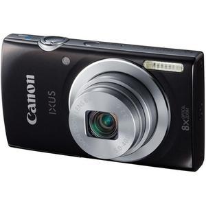 Compact Canon IXUS 145 - Musta/Harmaa + Objektiivi Canon 28-224mm f/3.2-6.9
