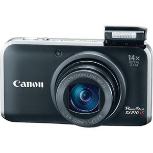 Compact Canon PowerShot SX210 IS - Zwart
