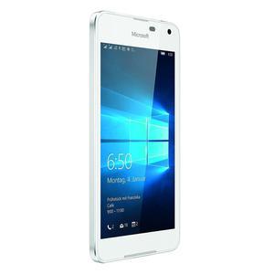 Microsoft Nokia Lumia 650 - Argent- Débloqué