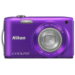 Compact Nikon Coolpix s3300 - Violet