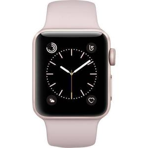 Apple Watch (Series 2) 38 mm - Aluminium Roségold - Armband Sportarmband Sandrosa