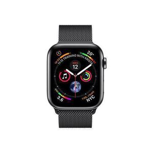 Apple Watch (Series 4) September 2018 44 - Aluminium Space gray - Milanese Black