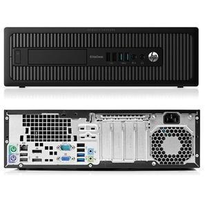Hp EliteDesk 800 G1 SFF Core i5 3,3 GHz - SSD 240 GB RAM 8 GB