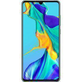 Huawei P30 128 Gb   - Blau (Aurora) - Ohne Vertrag