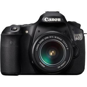 Reflex - Canon EOS 60D - Noir + Objectif  EF-S 18-55mm 1:3.5-5.6 IS