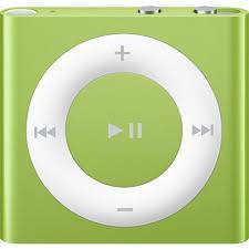 iPod Shuffle 4 Συσκευή ανάγνωσης MP3 & MP4 2GB- Πράσινο