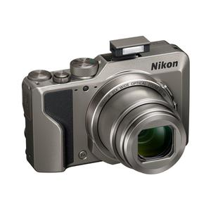Cámara compacta Nikon Coolpix A1000 - Gris + objetivo Nikon Nikkor Wide Optical Zoom 24-840 mm f/3.4-6.9