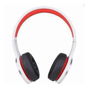 Casque Réducteur de Bruit avec Micro Wesc Chambers By RZA Street - Blanc/Rouge
