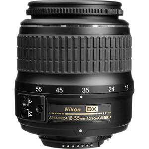 Objective Nikon AF-S DX Nikkor 18-55 mm f / 3.5-5.6 ED II