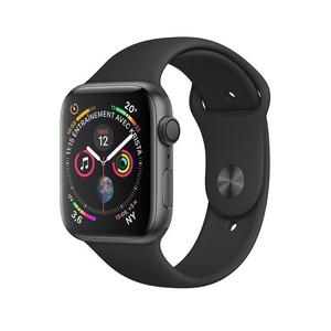 Apple Watch (Series 4) Septiembre 2018 44 mm - Aluminio Gris espacial - Correa Sport Negro