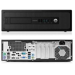 HP EliteDesk 800 G1 SFF Core i5-4570 3,2 - HDD 250 Gb - 4GB