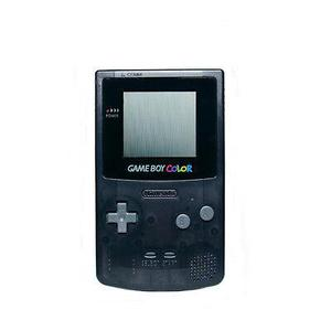 Konsole Nintendo Game Boy Color - Transparent Schwarz