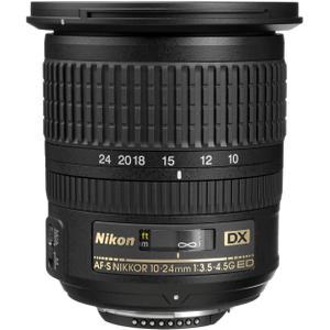 Objetivo Nikon AF-S NIKKOR 10-24MM F/3.5-4.5G