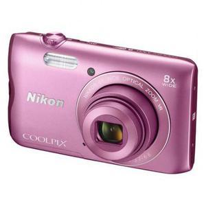 Kompakt Kamera Nikon Coolpix A300 - Rosa + Objektiv Nikkor Wide Optical Zoom VR