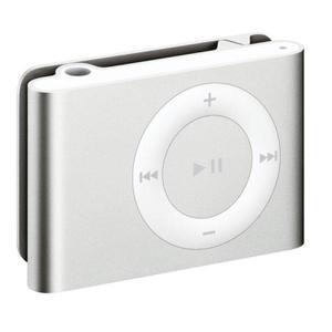 Reproductor de MP3 Y MP4 1GB iPod Shuffle 2 - Plata
