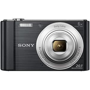 Kompaktikamera Sony Cyber-shot DSC-W810 - Musta + objektiivi Sony Optical Zoom Lens 26-156 mm f/3.5-6.5