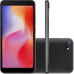 Xiaomi Redmi 6A 16GB Dual Sim - Musta (Midnight Black) - Lukitsematon